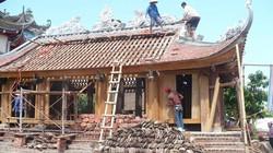 Sau bài báo trên NTNN: Dân quyên góp hàng tỷ đồng phục dựng đình làng