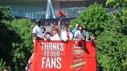Chùm ảnh Arsenal diễu hành mừng chức vô địch