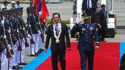 Chùm ảnh lễ đón tiếp Thủ tướng Nguyễn Tấn Dũng tại sân bay Philippines