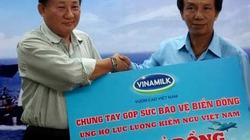Vinamilk tiếp tục ủng hộ 1 tỷ đồng cho cán bộ, chiến sĩ Kiểm ngư Việt Nam