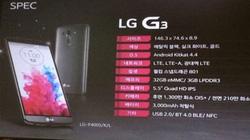 LG G3: Hết chuyện để nói?