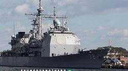 Mỹ điều động tuần dương tên lửa Vella Gulf