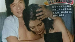 """Rò rỉ """"ảnh nóng"""" được cho là của Thành Long với diễn viên Nhật"""