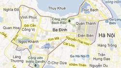 Hà Nội: Di dời nhiều hộ dân để xây trung tâm chính trị Ba Đình