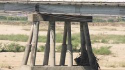 Quảng Ngãi: Cầu Trà Khúc (cũ) có nguy cơ sập