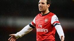 Arsenal bán Cazorla gom tiền mua Fabregas