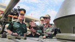 Bắn thử vũ khí mới Việt Nam chế tạo trên xe thiết giáp Mỹ sản xuất