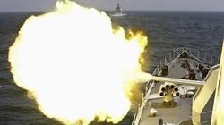 Mục kích cuộc tập trận trên biển của Nga-Trung