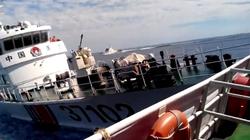 Phát hiện tàu tên lửa, tàu quét mìn Trung Quốc gần giàn khoan Hải Dương 981
