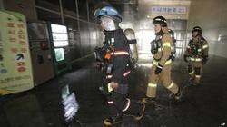 Hàn Quốc: Hiện trường vụ cháy nhà chờ xe bus khiến hàng chục người thương vong