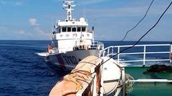 """Cận cảnh dấu vết của tàu Kiểm ngư cùng lúc bị 4 tàu Trung Quốc đâm """"chí tử"""""""