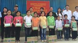 Dutch Lady trao tặng gần 12 tấn sữa cho học sinh vùng biên giới