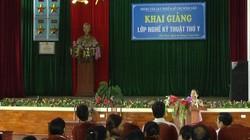 Hà Tĩnh: Khai giảng lớp Trung cấp Nghề thú y