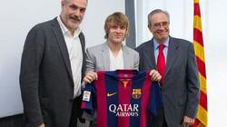 """Barca chính thức đón tân binh thứ hai, mệnh danh """"Modric mới"""""""