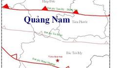 Lại xảy ra động đất tại khu vực Bắc Trà My