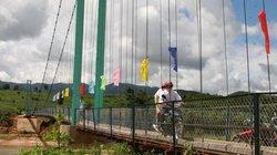 Cầu treo dân sinh có tuổi thọ tối thiểu 25 năm