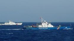 Tàu cá Trung Quốc thả lưới, vật dụng cản trở tàu chấp pháp VN