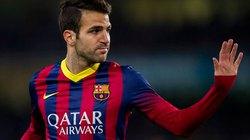 Barca rao bán Fabregas với giá 30 triệu bảng