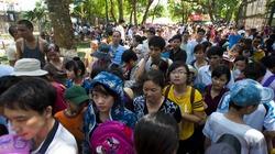 Chùm ảnh: Công viên, rạp xiếc Thủ đô đông nghịt người ngày 1.6
