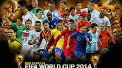 Danh sách chính thức 32 đội tham dự World Cup 2014 (Phần 2)
