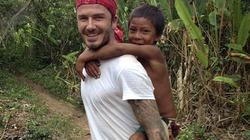 """Beckham """"sốc nặng"""" trước ếch, bò sát ở Amazon"""