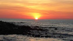 Bình minh tuyệt đẹp trên đảo Cồn Cỏ