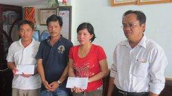 Đà Nẵng: Hỗ trợ gia đình ngư dân bị Trung Quốc đâm chìm tàu