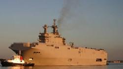 Pháp hứa bàn giao đúng hạn tàu đổ bộ cho Nga