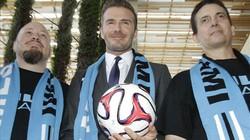 """""""Ngứa nghề"""", Beckham chuẩn bị tái xuất sân cỏ?"""