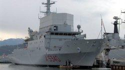Italia điều tàu trinh sát Elettra tới Biển Đen