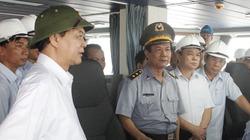 Thủ tướng thị sát tàu kiểm ngư lớn nhất Đông Nam Á tại Quảng Ninh