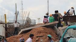 Bị hàng tấn bê tông đè lên người, một công nhân tử vong