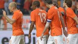 """Hà Lan """"ca khúc khải hoàn"""", Anh, Italia tiếp tục gây thất vọng"""
