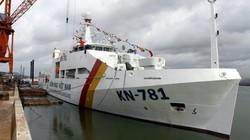 Cận cảnh tàu kiểm ngư KN-781 hiện đại nhất Việt Nam