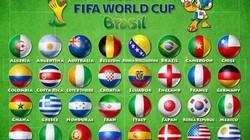 Lịch thi đấu, truyền hình trực tiếp VCK World Cup 2014