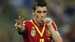 David Villa giã từ ĐT Tây Ban Nha ngay sau World Cup