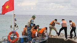 Lần đầu tiên Hải quân Việt Nam-Philippines giao lưu trên đảo Song Tử Tây