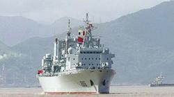 Trung Quốc đưa tàu tiếp tế quân sự lớn nhất tới Biển Đông