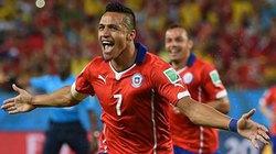 Alexis Sanchez rực sáng, Chile dễ dàng hạ gục Australia