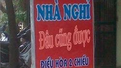 Những quảng cáo nhà nghỉ độc nhất vô nhị tại Việt Nam