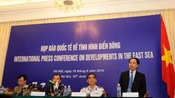 Họp báo tình hình Biển Đông: Phản bác luận điệu sai trái, ngang ngược của Trung Quốc