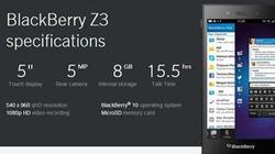 BlackBerry Z3 sẽ ra mắt tại Việt Nam ngày 18.6