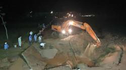Hà Nội: Đường ống dẫn nước sạch sông Đà vỡ lần thứ 7