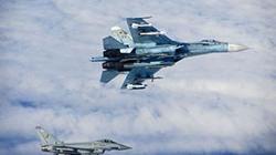 Chùm ảnh chiến đấu cơ Anh và Nga rượt đuổi nhau trên biển Baltic