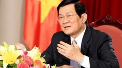 Chủ tịch nước: Chủ quyền lãnh thổ là thiêng liêng và bất khả xâm phạm