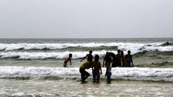 Tắm biển, một công an viên tỉnh Quảng Ngãi chết đuối