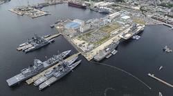 Mỹ công khai hình ảnh hàng loạt chiến hạm khủng ở Nhật Bản