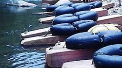 11 mét khối gỗ hương vô chủ dưới sông Côn