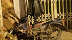 Xe máy đâm sập tường nhà dân, tài xế tử nạn