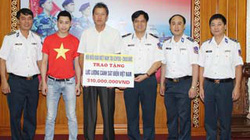 """Việt kiều tại Đức: Chương trình """"Sát cánh cùng cảnh sát biển Việt Nam"""""""